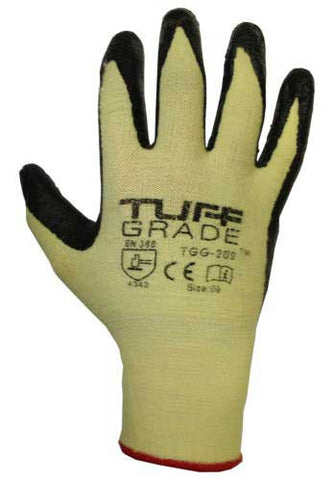 TGG-209 Foam Nitrile Palm/Kevlar Stretch Shell Glove