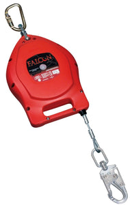 Self-Retracting Lifeline 30' Galvanized Steel Cable w/Swivel - Miller® Falcon™ (Honeywell)