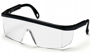 Intgra Clear Lens with Black Frame