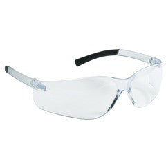 V20 Purity Safety Glasses, Clear Lenses with Clear Temples