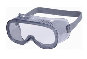 Muria Clear Poly-carbonate Goggles with Direct Vent