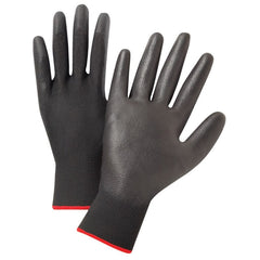 NS13BPU Black Polyurethane Coated Gloves (12)