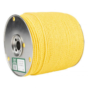 Reels of Yellow Poly Rope
