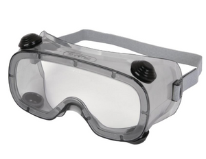Goggles Clear Polycarbonate With Indirect Venting - Ruiz - Eac