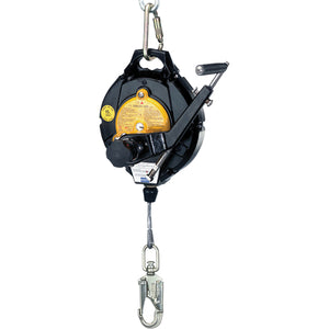 Self-Retracting Lifeline 50' Stainless Steel Cable with Rescue Winch - North® - SALE