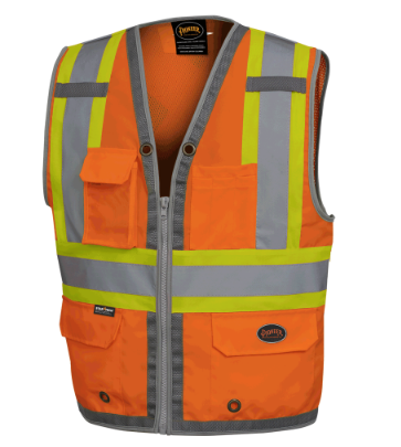 Surveyors Vest - Orange