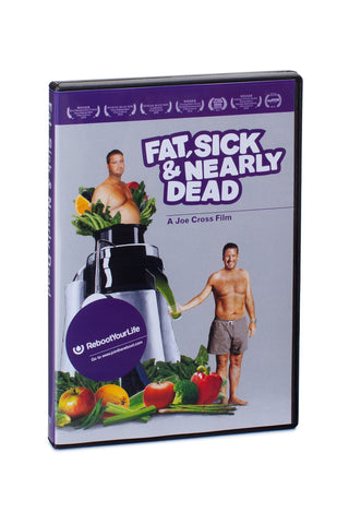 Fat, Sick & Nearly Dead DVD - Wholesale