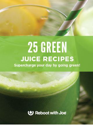 25 Green Juice Recipes eBook