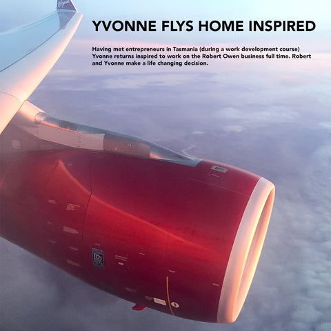 Yvonne flies home from Tasmania inspired to take the business forward