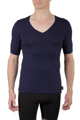 Oxford men's undershirt in bamboo viscose