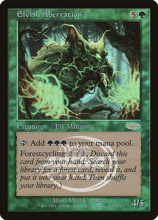 Elvish Aberration [Arena League 2003] | Eastridge Sports Cards & Games