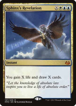 Sphinx's Revelation [Modern Masters 2017] | Eastridge Sports Cards & Games