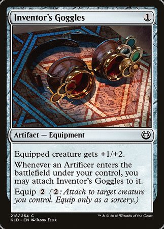 Inventor's Goggles [Kaladesh] | Eastridge Sports Cards & Games