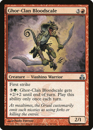 Ghor-Clan Bloodscale [Guildpact] | Eastridge Sports Cards & Games