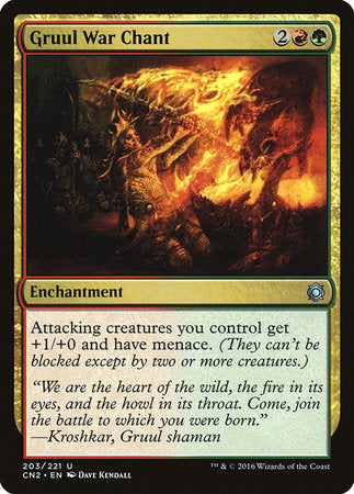 Gruul War Chant [Conspiracy: Take the Crown] | Eastridge Sports Cards & Games