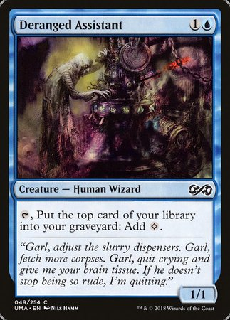 Deranged Assistant [Ultimate Masters] | Eastridge Sports Cards & Games