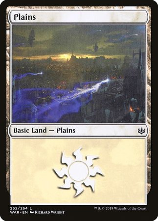Plains (252) [War of the Spark] | Eastridge Sports Cards & Games