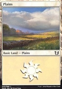 Plains (40) [Duel Decks: Blessed vs. Cursed] | Eastridge Sports Cards & Games