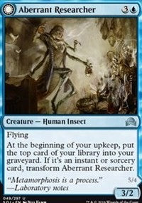 Aberrant Researcher [Shadows over Innistrad] | Eastridge Sports Cards & Games