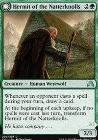 Hermit of the Natterknolls [Shadows over Innistrad] | Eastridge Sports Cards & Games