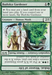 Budoka Gardener // Dokai, Weaver of Life [Champions of Kamigawa] | Eastridge Sports Cards & Games
