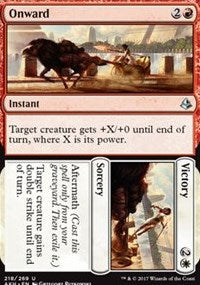 Onward // Victory [Amonkhet] | Eastridge Sports Cards & Games