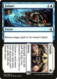Failure // Comply [Amonkhet Promos] | Eastridge Sports Cards & Games