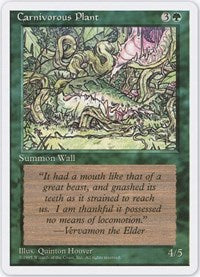 Carnivorous Plant [Fourth Edition] | Eastridge Sports Cards & Games