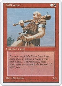 Hill Giant [Fourth Edition] | Eastridge Sports Cards & Games