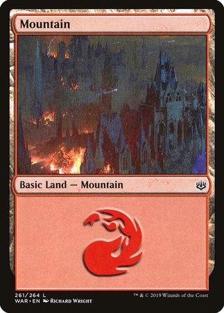 Mountain (261) [War of the Spark] | Eastridge Sports Cards & Games