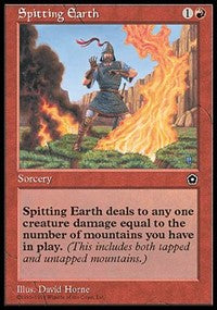 Spitting Earth [Portal Second Age] | Eastridge Sports Cards & Games
