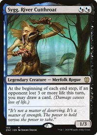 Sygg, River Cutthroat [Commander: Zendikar Rising] | Eastridge Sports Cards & Games