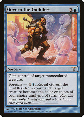 Govern the Guildless [Dissension] | Eastridge Sports Cards & Games