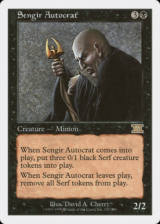 Sengir Autocrat [Classic Sixth Edition] | Eastridge Sports Cards & Games