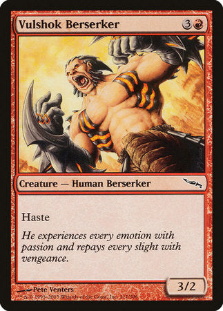 Vulshok Berserker [Mirrodin] | Eastridge Sports Cards & Games