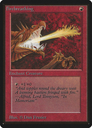 Firebreathing [Limited Edition Beta] | Eastridge Sports Cards & Games