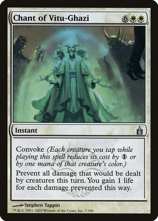 Chant of Vitu-Ghazi [Ravnica: City of Guilds] | Eastridge Sports Cards & Games