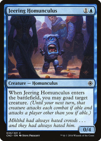 Jeering Homunculus [Conspiracy: Take the Crown] | Eastridge Sports Cards & Games