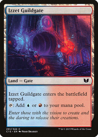 Izzet Guildgate [Commander 2015] | Eastridge Sports Cards & Games
