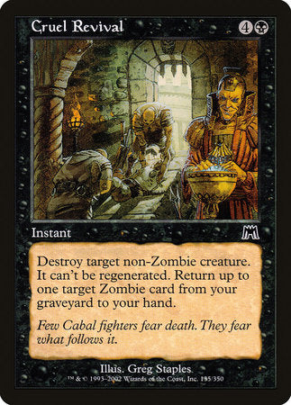 Cruel Revival [Onslaught] | Eastridge Sports Cards & Games