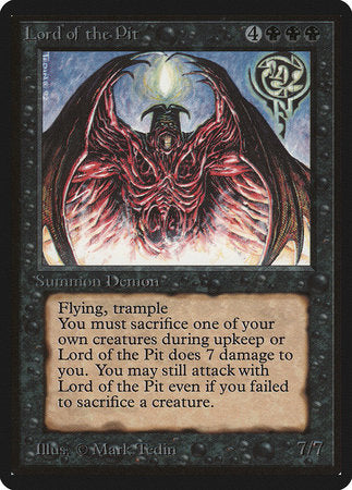 Lord of the Pit [Limited Edition Beta] | Eastridge Sports Cards & Games
