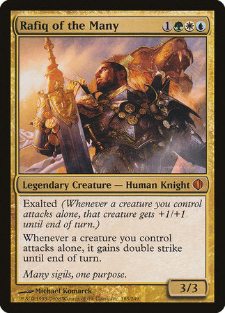 Rafiq of the Many [Shards of Alara] | Eastridge Sports Cards & Games