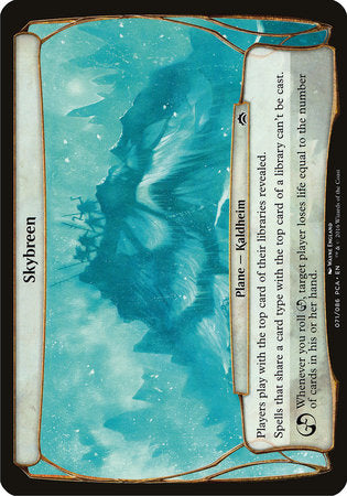Skybreen (Planechase Anthology) [Planechase Anthology Planes] | Eastridge Sports Cards & Games