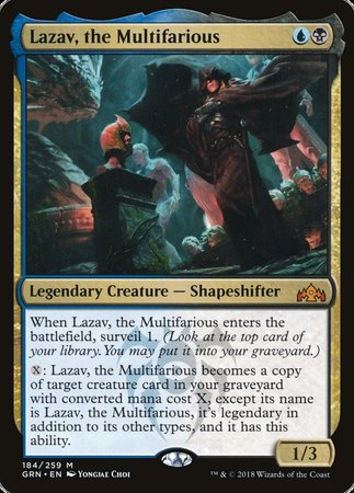 Lazav, the Multifarious [Guilds of Ravnica] | Eastridge Sports Cards & Games
