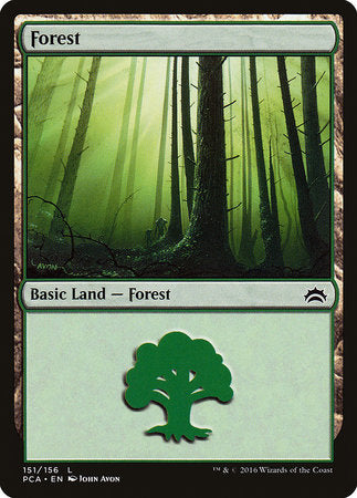 Forest (151) [Planechase Anthology] | Eastridge Sports Cards & Games
