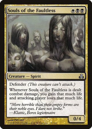 Souls of the Faultless [Guildpact] | Eastridge Sports Cards & Games