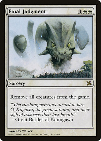 Final Judgment [Betrayers of Kamigawa] | Eastridge Sports Cards & Games