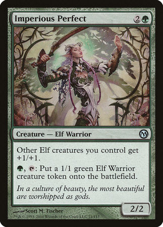 Imperious Perfect [Duels of the Planeswalkers] | Eastridge Sports Cards & Games