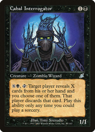 Cabal Interrogator [Scourge] | Eastridge Sports Cards & Games