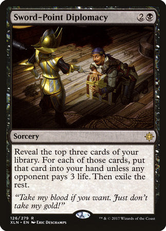 Sword-Point Diplomacy [Ixalan] | Eastridge Sports Cards & Games